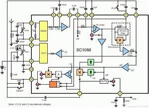 Sc1088 Fm Radio Chip Diagram
