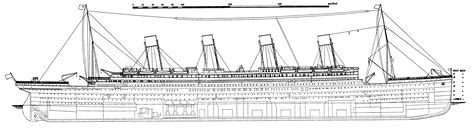 Ship Sinking Simulator Free by File Titanic Side Plan 1911 Png Wikimedia Commons