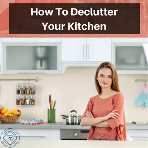 How To Declutter Your Kitchen   Flemington Granite