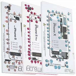 For Iphone 8 8  Plus Iphone X Iscrews Professional Repair