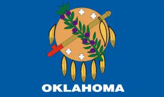 Image result for oklahoma flag