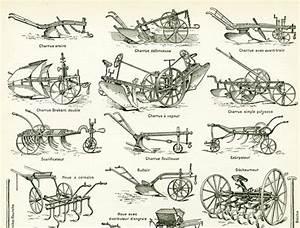 Materiel Agricole Ancien : 1897 materiel agricole ancien collection charrue semoir ~ Medecine-chirurgie-esthetiques.com Avis de Voitures