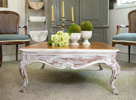 Leila mother of pearl and bone inlay a simple country style coffee table featuring rectilinear shapes. Coffee Table Makeover with French Country Style - Prodigal Pieces