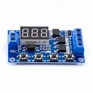 Timing Delay Switch Circuit Double Mosfet Control Board
