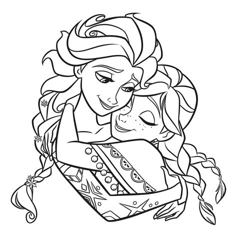 Kleurplaat E by Elsa And Coloring Pages To And Print For Free