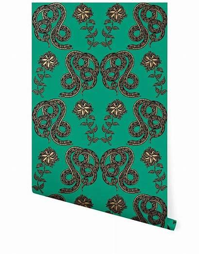 Emerald Serpentine Patch Contemporary Nyc Unique Hyggeandwest