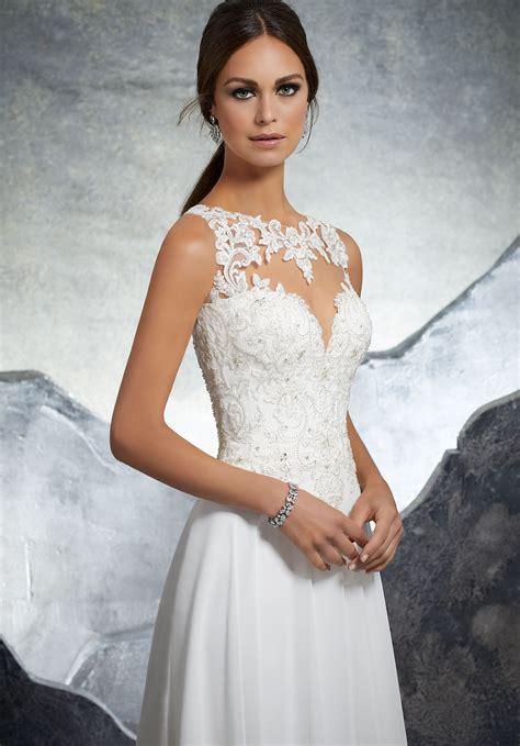keisha wedding dress style  morilee