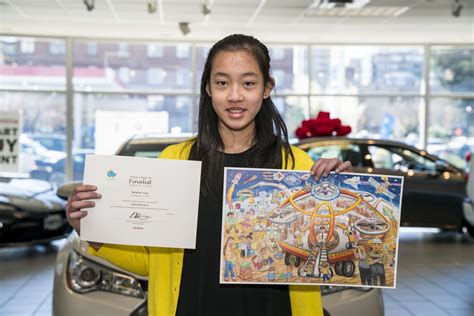 canadian kids win global car design contest toyota