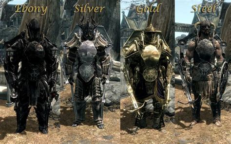 Different Types Of Armor In Skyrim