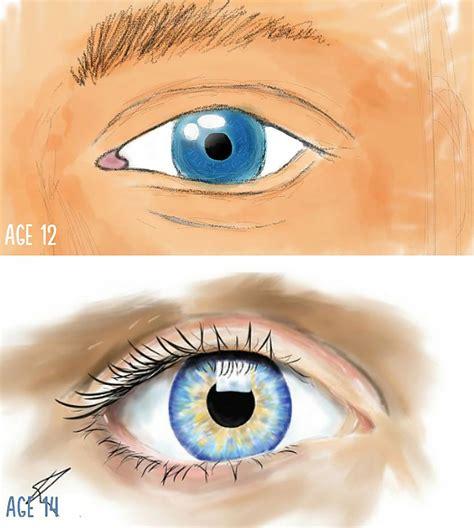 Pirms un pēc: mākslinieku zīmējumi dažādos vecumos - Spoki