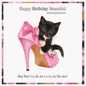 Happy Birthday Beautiful   Happy birthday beautiful, Happy ...