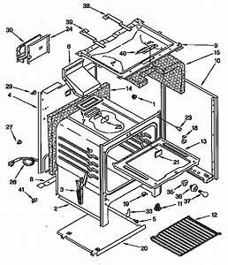 35 Whirlpool Super Capacity 465 Parts Diagram