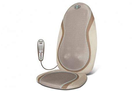 coussin de shiatsu technologie gel homedics homedics et relaxation beaut 233