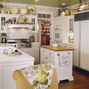 Blue Kitchen Islands 38 Cozy And Charming Cottage Kitchens Digsdigs