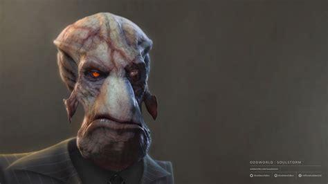 oddworld soulstorm character portraits molluck