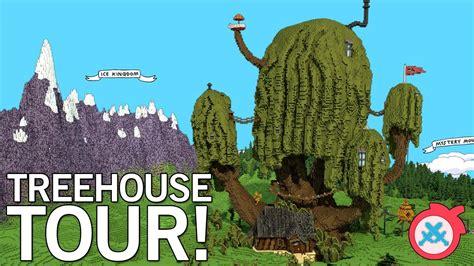 adventure time custom map treehouse youtube