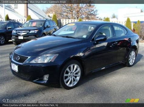 Lexus Is 250 Blue by 2006 Lexus Is 250 Awd In Blue Onyx Pearl Photo No