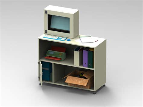 mensola per pc armadio porta computer con mensola arredamenti