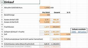 Quantil Berechnen Beispiel : amazon fba excel rechner zur produktkalkulation ~ Themetempest.com Abrechnung
