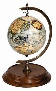 Globe Terrestre Bois : globe terrestre support bois et laiton gl000 terrestrial ~ Teatrodelosmanantiales.com Idées de Décoration