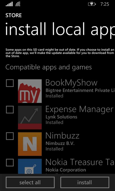 installing downloaded apps xap appx on windows phone 8 1
