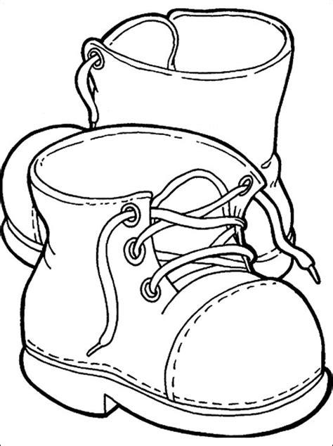 Hakken Schoenen Kleurplaat by Kleurplaat Met Laarzen Gratis Kleurplaten Kleding