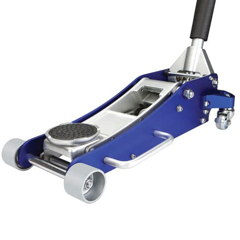 2 ton aluminum racing floor jack with rapid pump 174