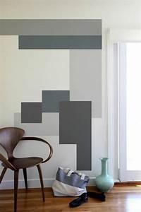 Decoration Peinture : 1001 id es pour votre peinture murale originale ~ Nature-et-papiers.com Idées de Décoration