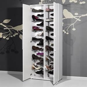 Grand Meuble Chaussure : impressionnant meuble chaussures grande capacit d coration fran aise pinterest ~ Teatrodelosmanantiales.com Idées de Décoration