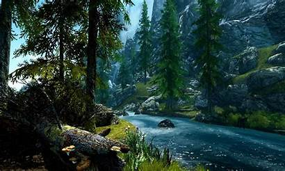 Forest River Desktop Mountain Rivers Nature Wallpapers13
