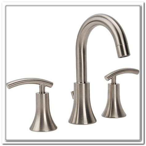 Fontaine Bellver Brushed Nickel Widespread Bathroom Faucet Brushed Nickel Bathroom Faucets Widespread Sink And