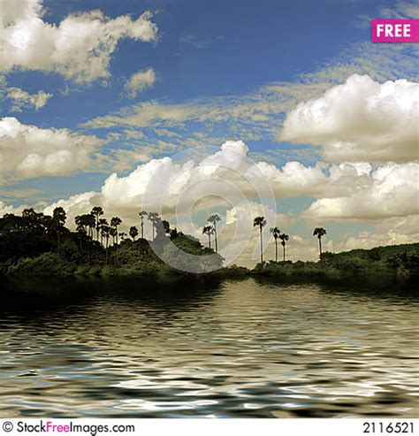 Pin River-and-palm-trees-hd-desktop-wallpaper-high