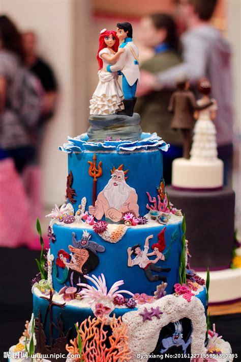 婚礼翻糖蛋糕图片摄影图 西餐美食 餐饮美食 摄影图库 昵图网nipic com