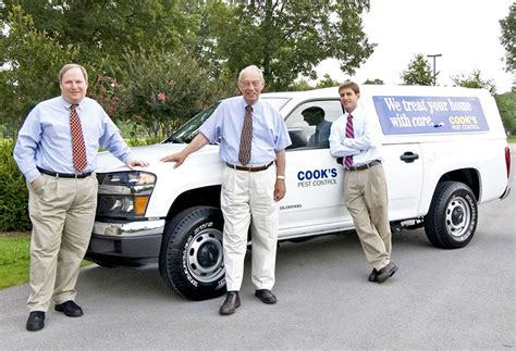 Working At Cook's Pest Control