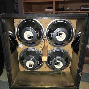 Marshall 8412 4x12 Speaker Cabinet With Celestion G12l