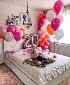 adorable birthday bedroom surprise ideas homemydesign