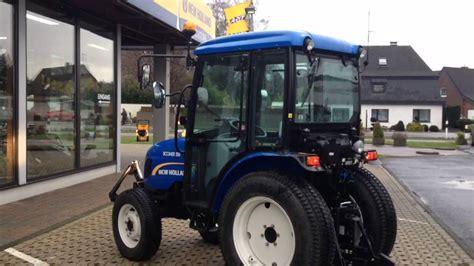 Kompakttraktor New Holland Boomer 50 Hst, Fkh, 2014
