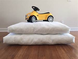 xl dog bed pillow large dog bed replacement mattress insert With dog bed replacement pillow