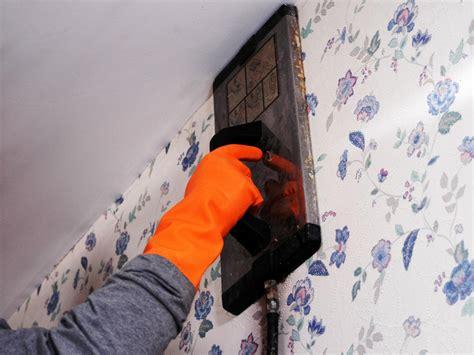 remove wallpaper  solvents  steam hgtv