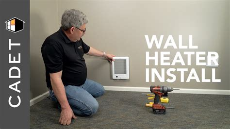 How Install Wall Heater With Built Thermostat