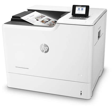 hp laser color printer hp color laserjet enterprise m652n laser printer j7z98a b h