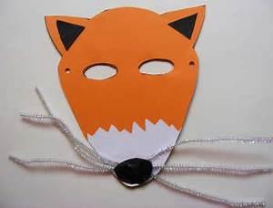 kids sylvan lake library may 2012 With fantastic mr fox mask template