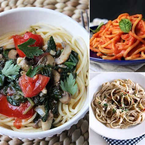 vegetarian pasta recipes vegan pasta recipes popsugar fitness