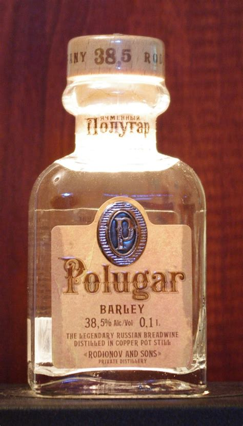 Dust off your old recipe file and share your favorite recipes by clicking on the add recipe link at the top of each page. Polugar Barley Vodka | Spirits Review