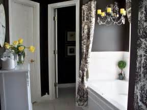 black and white bathroom ideas colorful bathrooms from hgtv fans bathroom ideas designs hgtv