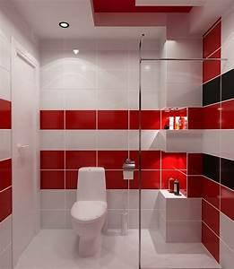 carrelage mural cuisine rouge et blanc carrelage idees With carrelage mural rouge cuisine