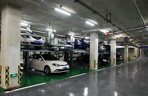 Vertical Circulation Parking System Underground Design