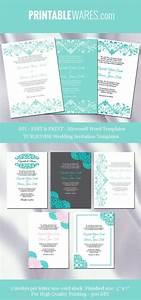 turquoise wedding invitation templates turquoise wedding With free wedding invitation templates turquoise