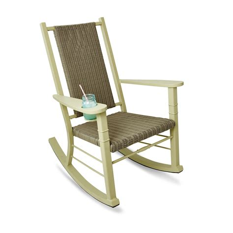 happy hour rocker in grass products rocking chair porch painted wicker outdoor living rooms