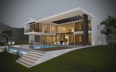 les villa moderne le monde de lea